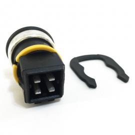 Bulbo Sensor de Temperatura de 4 Patas Hella para Combi 1800, Golf A3, Jetta A3