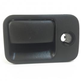 Chapa de Guantera Corta Color Negro Voltmax para Golf A3, Jetta A3