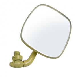 Espejo Retrovisor Color Crema Lado Izquierdo para Combi 1500, 1600, Hormiga