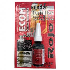 """Liquido Fijador de tornillería ECOM """"Rojo"""""""
