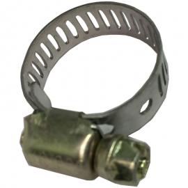 Abrazadera metálica sinfín fijadora de mangueras y ductos para V.W. Sedan, Caribe, Atlantic, Combi, Golf A2. Jetta A2