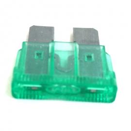 Fusible Tipo Clavija Color Verde de 30 Amperes