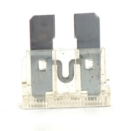 Fusible WURTH Tipo Clavija Transparente de 25 Amperes