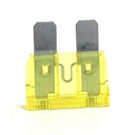 Fusible WURTH Tipo Clavija Color Amarillo de 20 Amperes