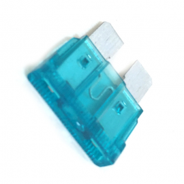 Fusible WURTH Tipo Clavija Color Azul de 15 Amperes