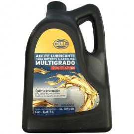 Garrafa de Aceite Hella Multigrado Mineral 20W-50 para Motores a Gasolina