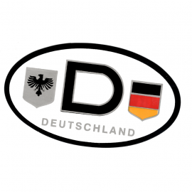 "Calcomania ""DEUTSCHLAND"""