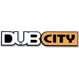 Calcomanía Externa de Vinil con Emblema DUB CITY