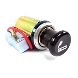Encendedor Universal con Base y Arillo Luminoso Azul Tunix