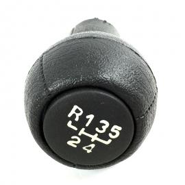 Perilla palanca de velocidades de Golf A3 y Jetta A3. (5 VELOCIDADES).