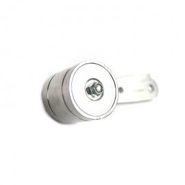 Pedal roller redondo grande (Aluminio)