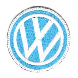 Parche Logo VW Circular Azul
