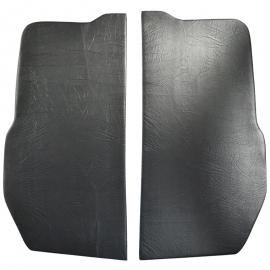Juego de Pieceras Color Negro con Aislante para Combi