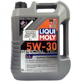 Garrafa de Aceite Liqui Moly Multigrado Sintético 5W-30 Special Tec