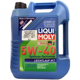 Garrafa de Aceite Liqui Moly Multigrado Sintético 5W-40 Leichtlauf HC7