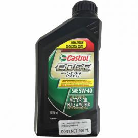 Botella de Aceite CASTROL EDGE Multigrado Sintético SAE 5W-40 para Motores a Gasolina y Diésel