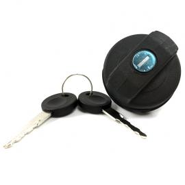 Tapón de gasolina con llave de rosca para Golf y Jetta A2, A3, A4 ,Deby, Pointer, Ibiza Mk2, Mk3, Córdoba Mk1, Mk2, Polo, Lupo