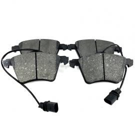 Juego de 4 Balatas Delanteras con Sensor Firelock para Eurovan T5 TDI