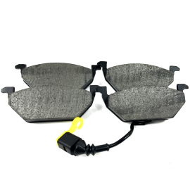Juego de 4 Balatas Delanteras con Sensor Luk para Golf A4, Jetta A4, Clásico, Jetta A6, New Beetle 2.0L