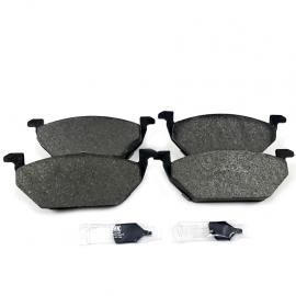 Juego de Balatas Delanteras sin Sensor Luk para Golf A4, Jetta A4, New Beetle, Polo 9N