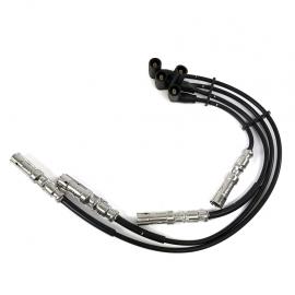 Juego 4 de Cables Conectores de Bujías Original para Golf A4, Jetta A4, New Bettle, Ibiza Mk2, Mk3, Cordoba Mk1, Mk2