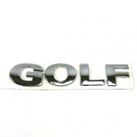 Letrero de Cajuela GOLF para Golf A4