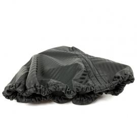 Cubre polvo de Palanca de Velocidades con Apariencia Fibra de Carbono para Golf A4, Jetta A4