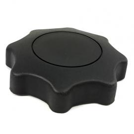 Perilla Redonda GRANDE Reclinante de Asiento Color Negro para Golf A4, Jetta A4, Polo 9N, Ibiza Mk2