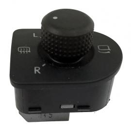 Switch de Espejo, Defroster de Espejo y Boton para Abatir de Golf A4 y Jetta A4 Original
