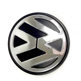 Tapón Central de Rin de Aluminio con Emblema VW ORIGINAL para Golf A4, Jetta A4, New Beetle, Derby, Pointer, Polo 9N, Sport Van