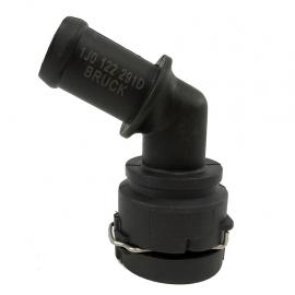 Toma de Agua de Calefacción con Liga y Seguro Herta para Jetta A4 1.8T, Golf A4 1.8T, Sharan 1.8T, Beetle 1.8T