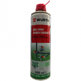 Grasa liquida transparente HHS 2000 Wurth 500 ml