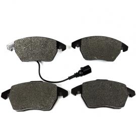 Balatas de Disco Delanteras con Sensor Luk para Bora, Tiguan, León Mk2, Altea