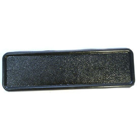 Tapa Ciega de Radio color Negro para Combi 1800