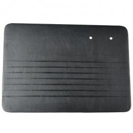 Juego de 4 Tapas Acolchadas de Puertas y Paredes Color Negro para VW Sedan 1200, 1500
