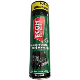 Desengrasante Limpiador en Spray de Lata Verde para Motor Ecom