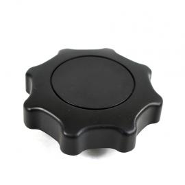Perilla Original Redonda de Asiento Color Negro para Gol, Saveiro, Lupo, Sportvan, CrossFox