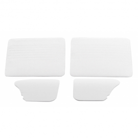 Juego Completo de Tapas Acolchadas de Puertas y Paredes Color Blanco para VW Sedan 1200, 1500