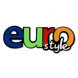 """Calcomania """"EURO STYLE"""" colores"""