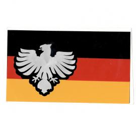 Calcomanía Externa de Vinil con Bandera y Águila de Alemania