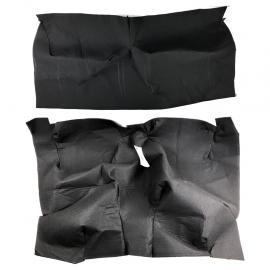 Alfombra de Piso 2 y 4 Puertas Color Negro para Caribe, Atlantic