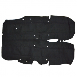 Alfombra de Piso Color Negro para Chevy Swing, Monza, Wagon
