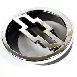 Emblema Cromado de Parrilla con Logo de Chevrolet para Chevy C2