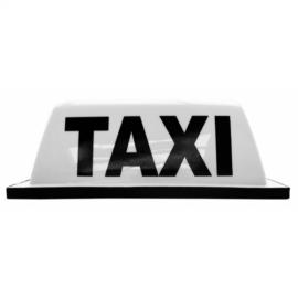 Copete de Taxi Blanco prisma (oficial)