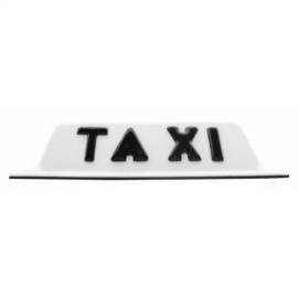 Copete Blanco de Toldo con Imán para Taxi