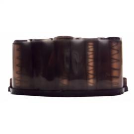 Marimba Organizadora de Monedas Color Negro con sistema de Resortes