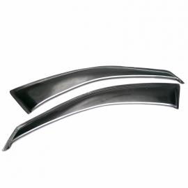 Par de bota aguas de fibra de vidrio de ventana delantera para Golf A4, Jetta A4