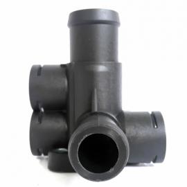 Toma de Agua de Motor de 3 Bulbos Bruck para Combi 1800, Golf A2, Jetta A2
