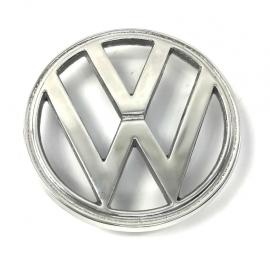 Emblema VW Chico Frontal de Metal Pulido para Combi 1600