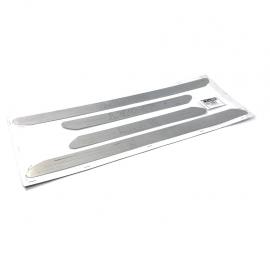 Estribo de Aluminio Interior con Grabado Sport